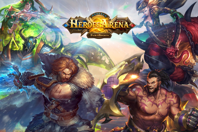 HEROES ARENA Hit Online Battle Game Coming to iOS April 14