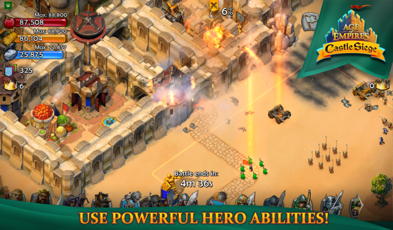 Age of Empires: Castle Siege Now Available on Google Play Store