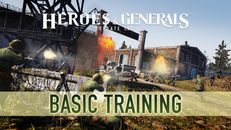 Heroes & Generals New Update Adds Basic Training for New Soldiers and Easter Eggs