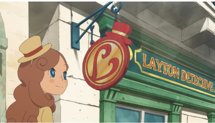 Global Release Date and New Name for Latest Addition to Professor Layton Series Announced by LEVEL-5