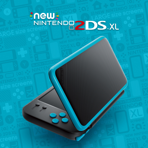 New Nintendo 2DS XL Portable System to be Launched July 28