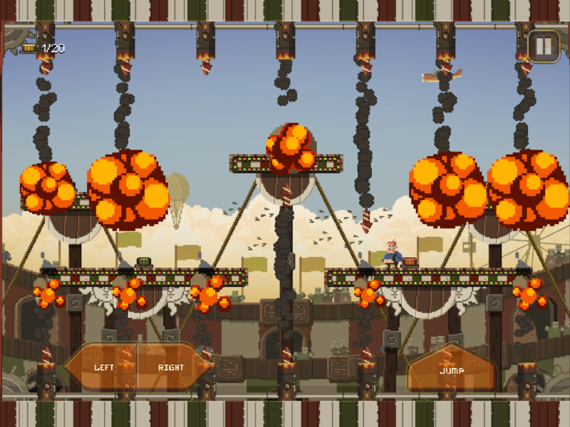 PENARIUM, the Frantic Circus Extravaganza by Team17 is Now Out on Mobile