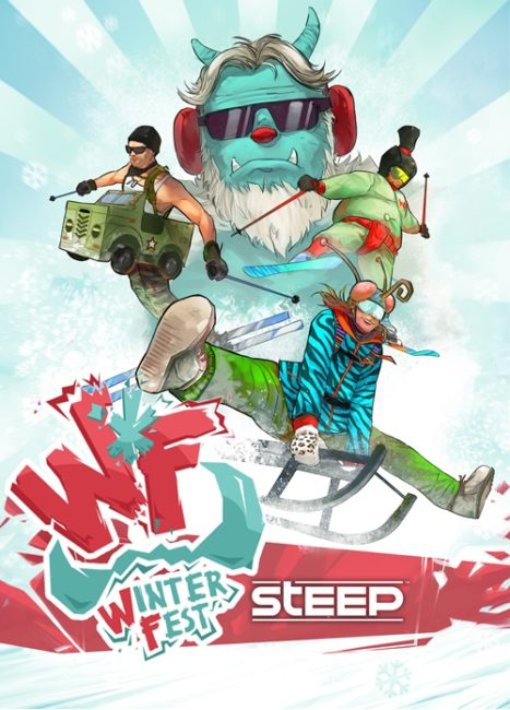 STEEP's New Winterfest Add-On Content Lets You Shred and Sled May 3