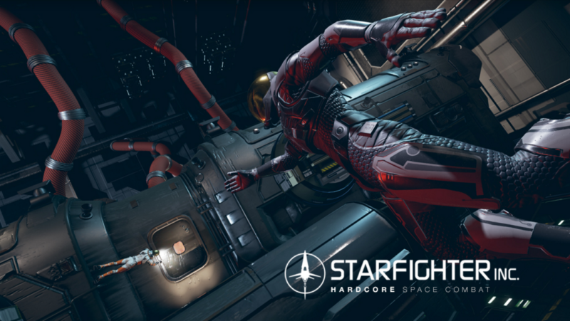 Starfighter Inc. Funds on Kickstarter and Reveals New Video