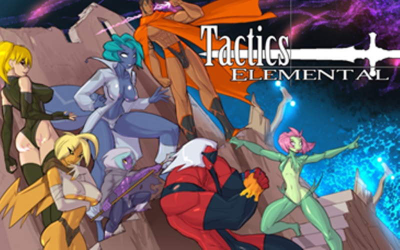 TACTICS ELEMENTAL Erotic RPG Exclusively Launched Worldwide by Nutaku