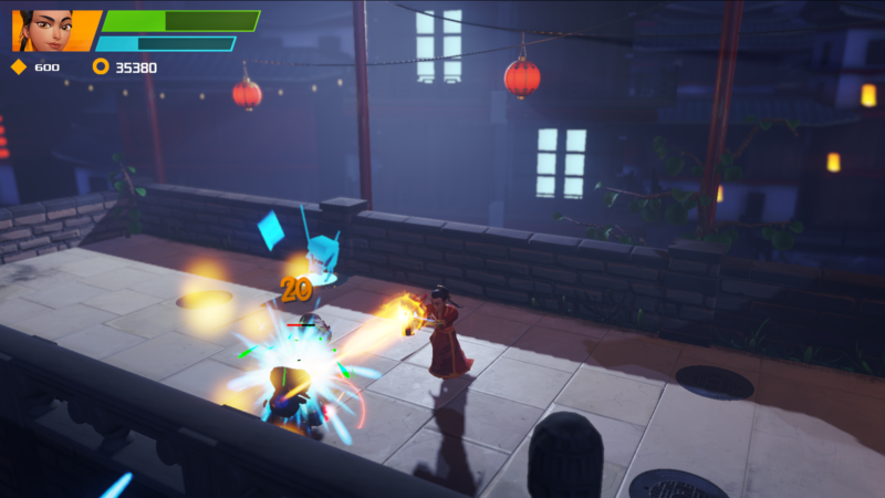 ZHEROS Quirky 3D Beat 'em Launches on PS4 with The Forgotten Land DLC