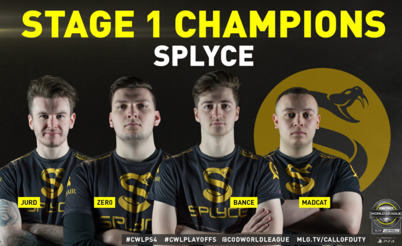 Splyce Triumphs at the Call of Duty World League Global Pro League Stage 1 Playoffs