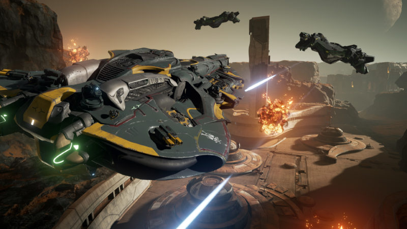 DREADNOUGHT Class-based Spaceship Action Game Open Beta Launches Today