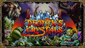 DEMON'S CRYSTALS Frenetic Twin-Stick Shooter Available Now for PS4 and Xbox One