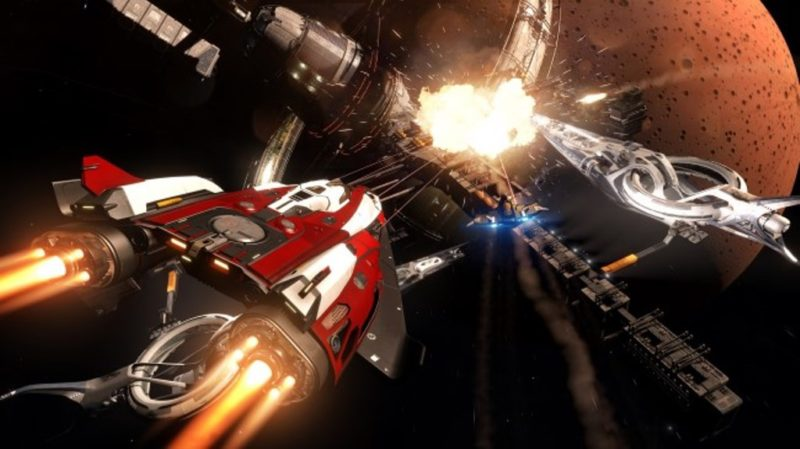 Elite Dangerous Now Available for PlayStation 4