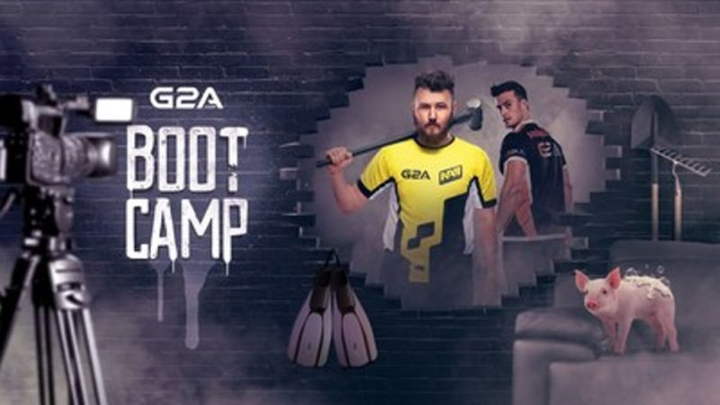 G2A Organizing eSports Bootcamp for Virtus.pro and Natus Vincere