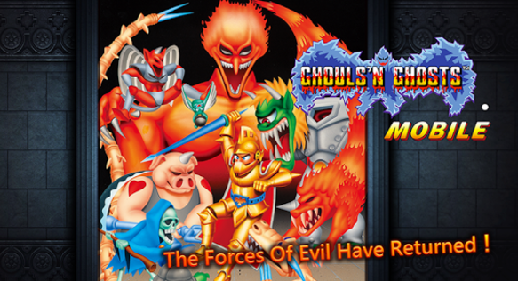 Ghouls'N Ghosts Mobile by Capcom Available Now for iOS and Android