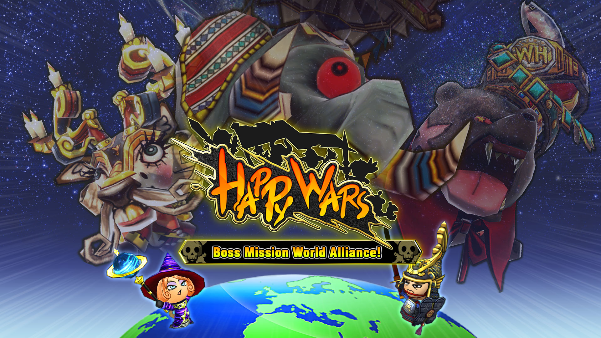 HAPPY WARS Kicks Off World Alliance Mode Today on Xbox and Windows 10 PC - Gaming Cypher