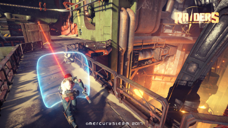 Raiders of the Broken Planet Antagonist Video Developer Diary Released