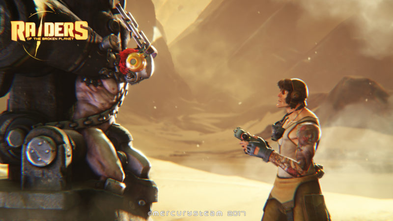 Raiders of the Broken Planet Release Date Announced, New gamescom Trailer