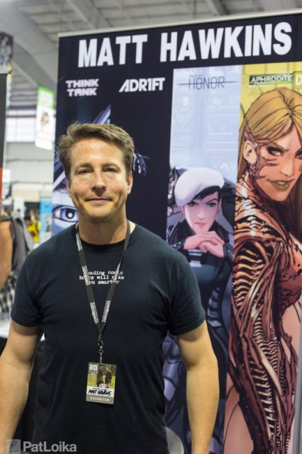 INTERVIEW with Top Cow's MATT HAWKINS on Original WARFRAME Comic Series