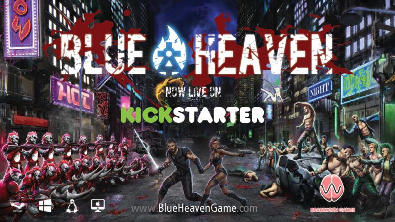 BLUE HEAVEN Adult action-RPG and Hack & Slash Coming to Kickstarter Today