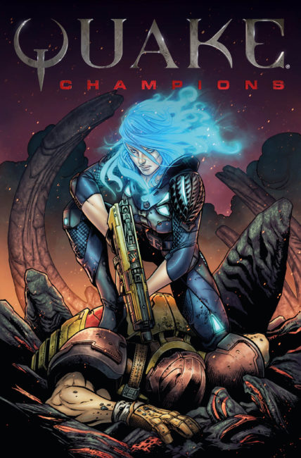 Titan Comics and Bethesda Softworks Announce Quake Champions Comics
