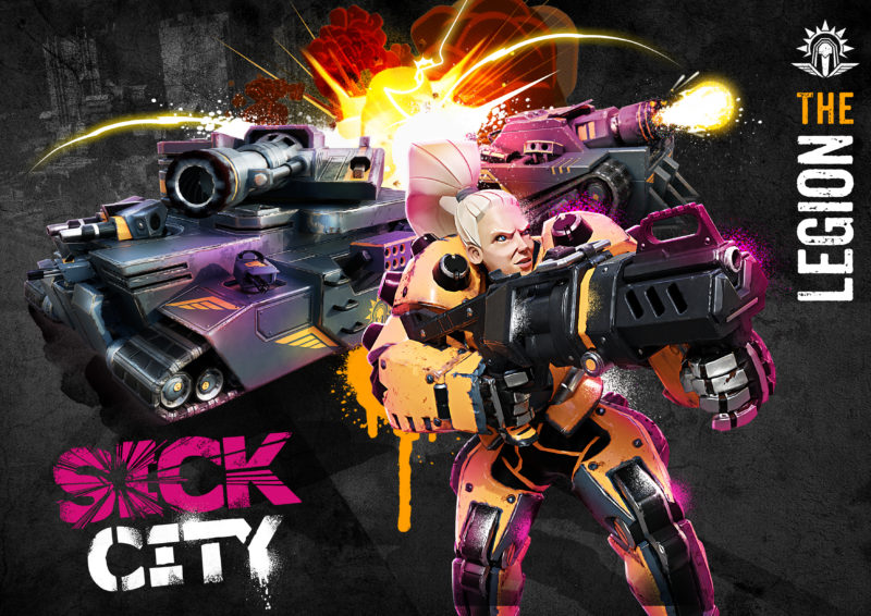 Roccat Announces its First Game SICK CITY