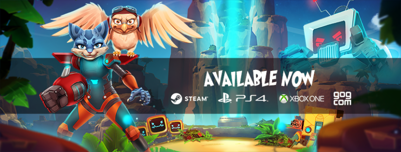 Skylar & Plux: Adventure on Clover Island Smashes onto Xbox One, PS4 and PC