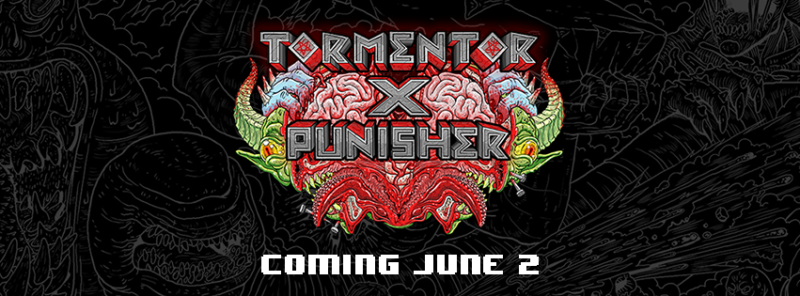 Tormentor X Punisher will Massacre Your Soul June 2nd