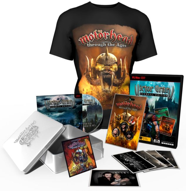 Victor Vran: Overkill Edition Exclusive Store Launched Featuring Motörhead and The Town of Light Collector's Editions