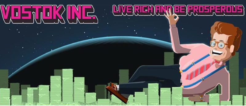 Vostok Inc. Tongue-in-Cheek Sci-Fi Shooter Needs Your Votes on Steam Greenlight