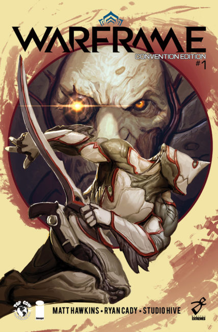 WARFRAME Creator Digital Extremes Partners with Top Cow on Original Comic Series