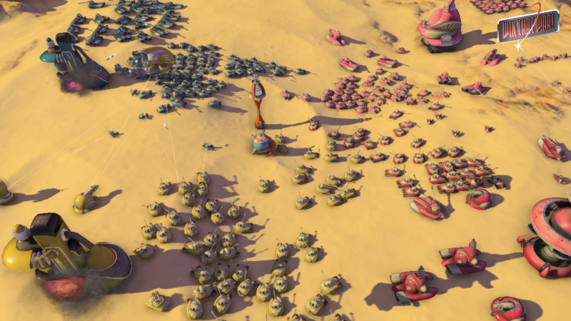 WIN THAT WAR! Out-of-this-World MMO-RTS Available Now on Steam