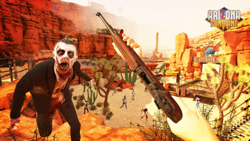 ARIZONA SUNSHINE PlayStation VR Zombie Shooter Reveals Launch Date, New Gameplay Video