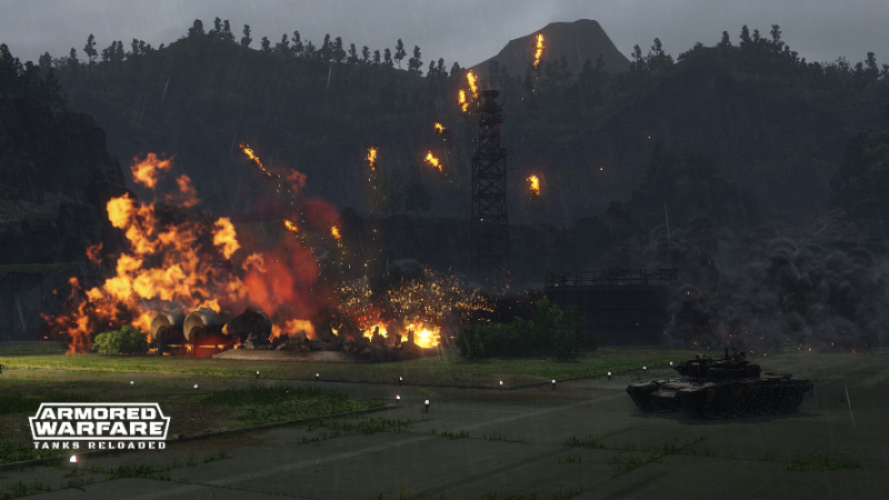 Armored Warfare Ghost Field Map and Changes to Global Operations Now Live