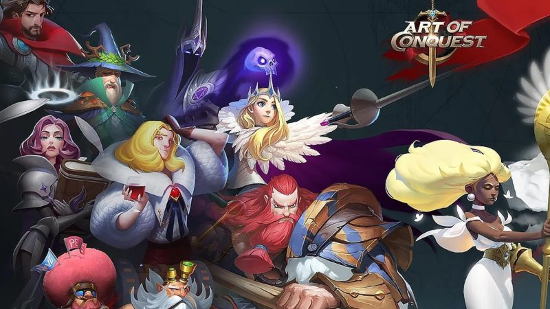 Global Debut of ART OF CONQUEST on HiGame Lets International Players Experience the Game