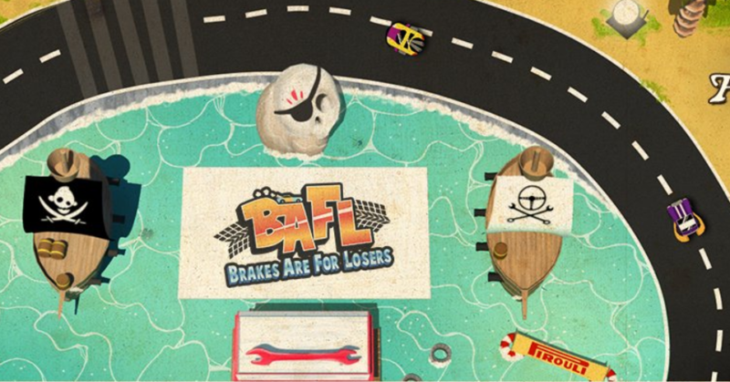 BAFL - Brakes Are For Losers Old School Racing Game Releases E3 Trailer