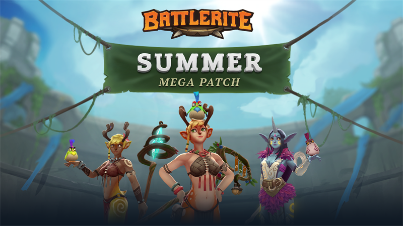 BATTLERITE Summer Mega Patch has New Champion and More