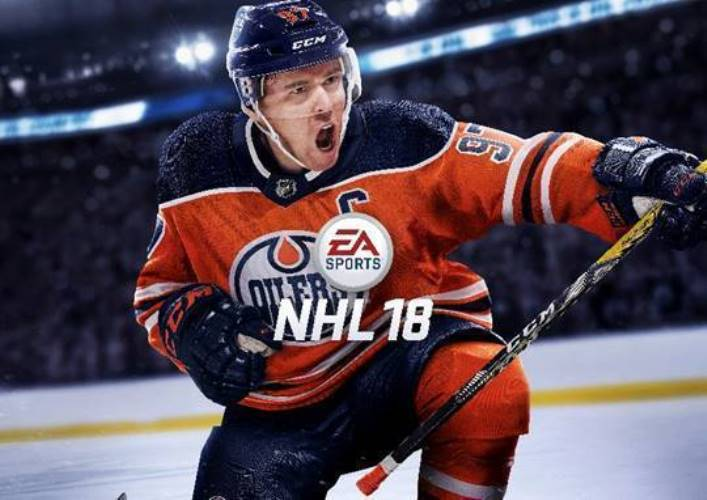 EA SPORTS NHL 18 Reveals CONNOR MCDAVID of Edmonton Oilers as Cover Athlete at 2017 NHL Awards