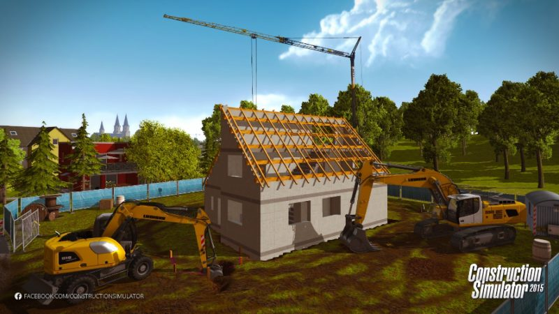 Construction Simulator 2015 Releases Liebherr A 918 DLC and Deluxe Edition