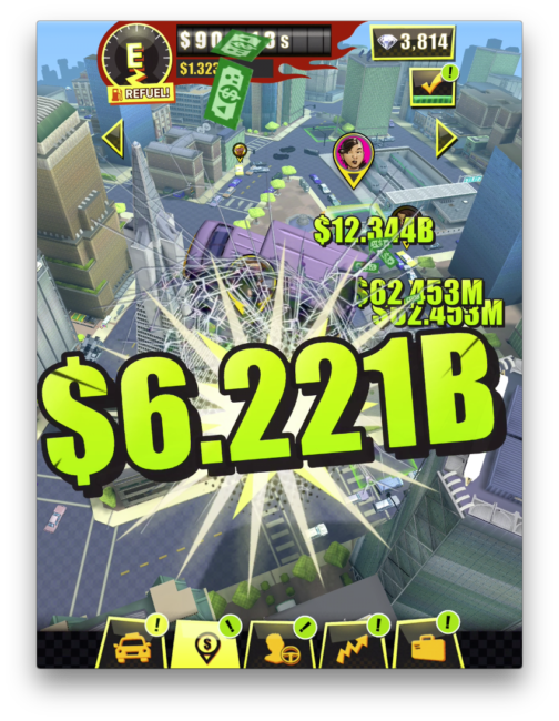 Crazy Taxi Gazillionaire Launched by SEGA on Mobile Devices
