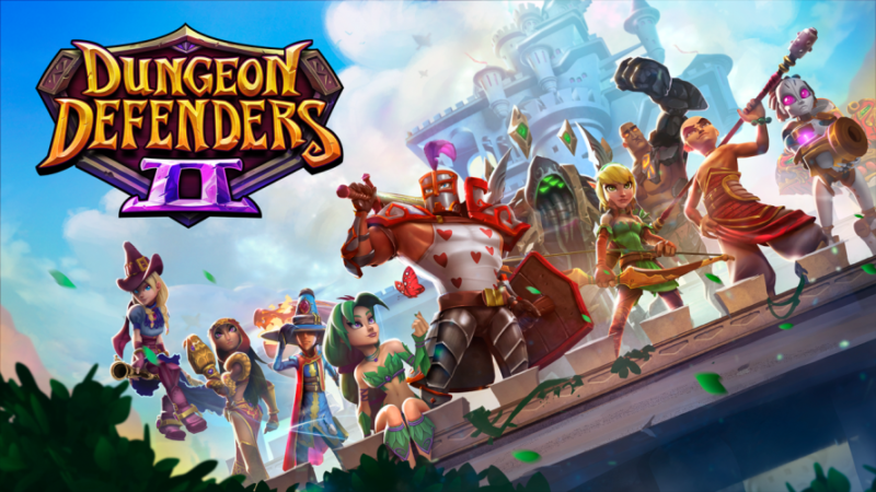 DUNGEON DEFENDERS II Launches on Xbox One, PS4 and PC