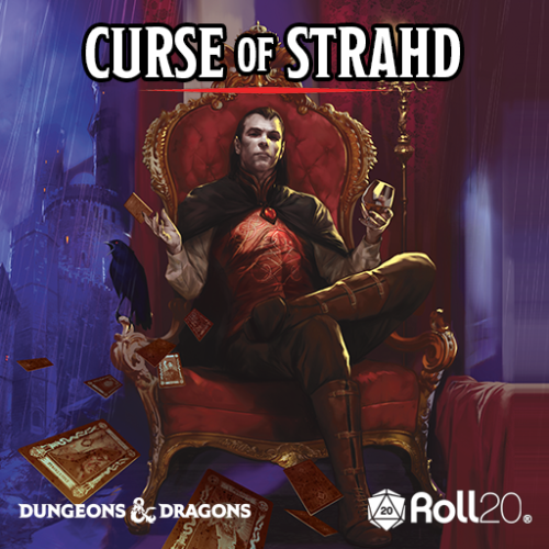 Roll20 Announces Dungeons & Dragons Curse of Strahd