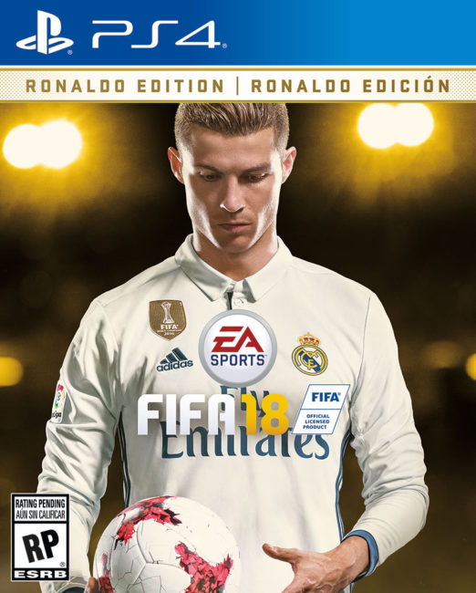 EA SPORTS FIFA 18 Cover Star is Cristiano Ronaldo
