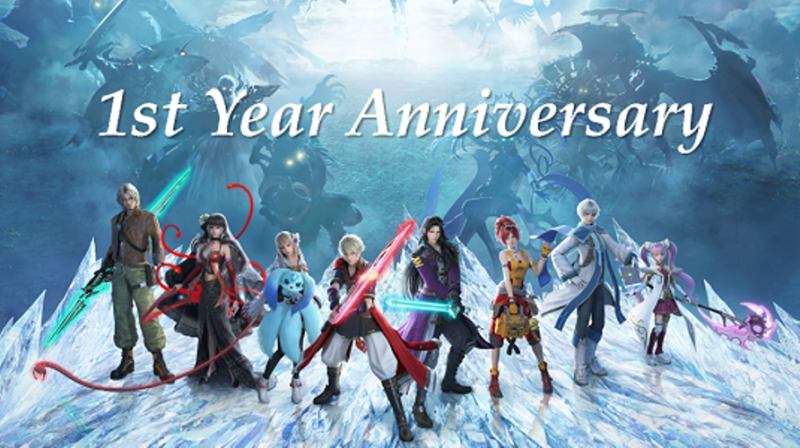 FINAL FANTASY BRAVE EXVIUS Celebrates First Anniversary with Massive In-Game Promotions