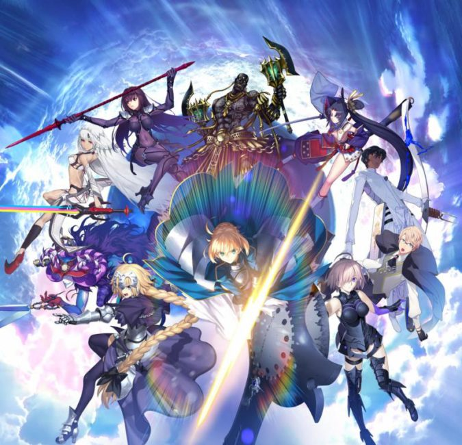 Fate/Grand Order Launches in North America for Mobile Devices