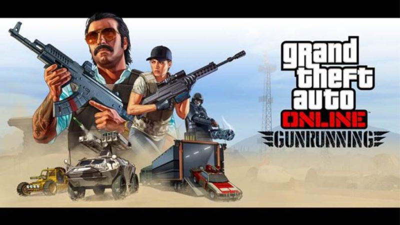 GTA Online: Gunrunning New Trailer and Release Date Announced