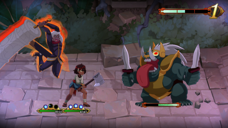 INDIVISIBLE Action RPG Game Heading to Nintendo Switch in 2018
