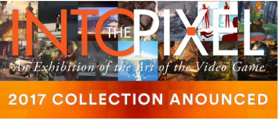2017 Into The Pixel Video Game Art Collection Revealed by ESA And AIAS Foundation for Auction at E3