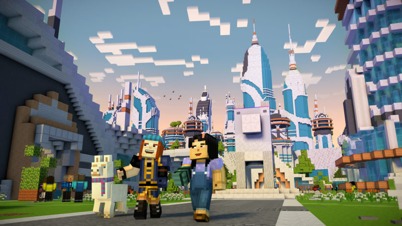 Minecraft: Story Mode - Season 2 Announced by Telltale Games and Mojang, Premiering July 11