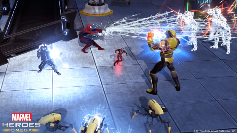 Marvel Heroes Omega Available Now on PS4 and Xbox One