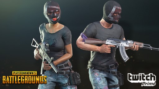 PLAYERUNKNOWN'S BATTLEGROUNDS Exclusive New Skins for Twitch Prime Members Revealed