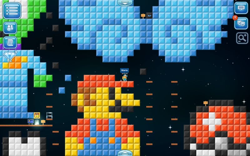 Pixel Worlds Review for Mac