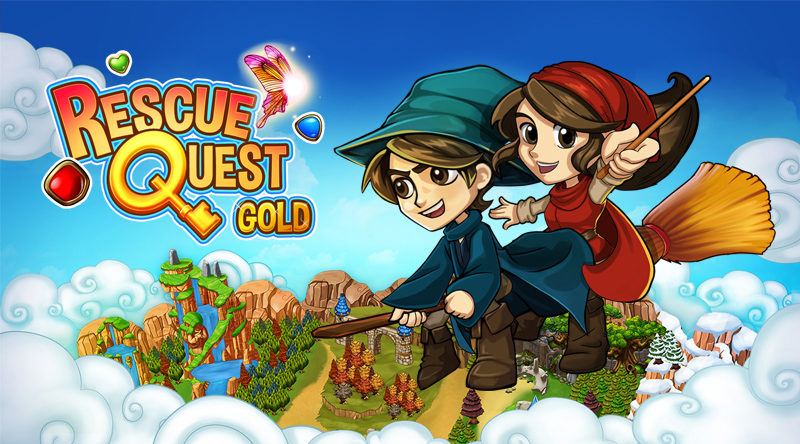 RESCUE QUEST GOLD Match-3 Game Now Available for PC and Mac on Steam